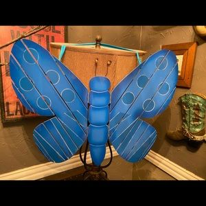 New!! Large Wooden Butterfly